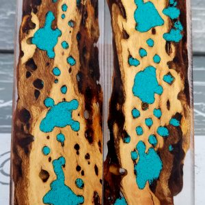 Turquoise Exotic Knife Handles P1